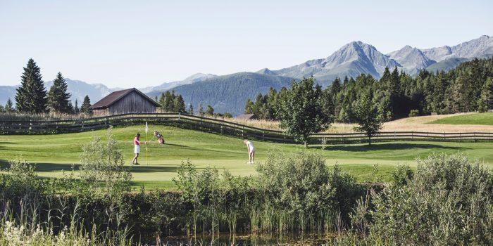 Golf Partie mit Panorama - Seefeld-Reith